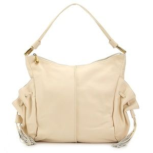 HOBO Shoulder Bag Tempest Leather with Drawstring